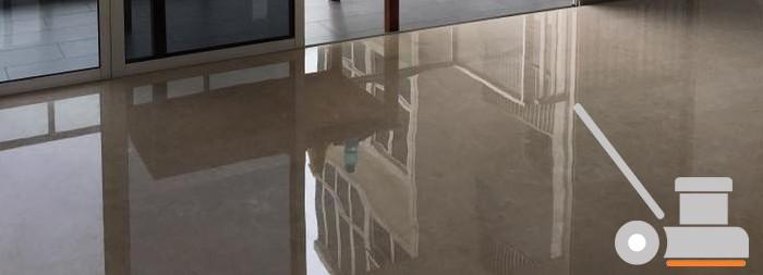 Pulido de suelos de mármol
